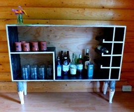 Yukon bar cabinet