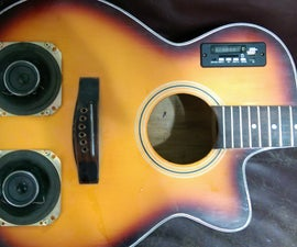 Wireless Bluetooth Guitar Speaker