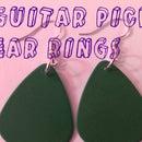 Guitar Pick Ear Ring