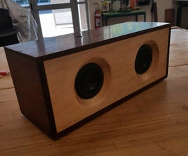 Recycled Timber Bluetooth Speaker