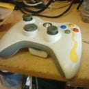 Xbox 360 wireless led mod that turns off with the controller