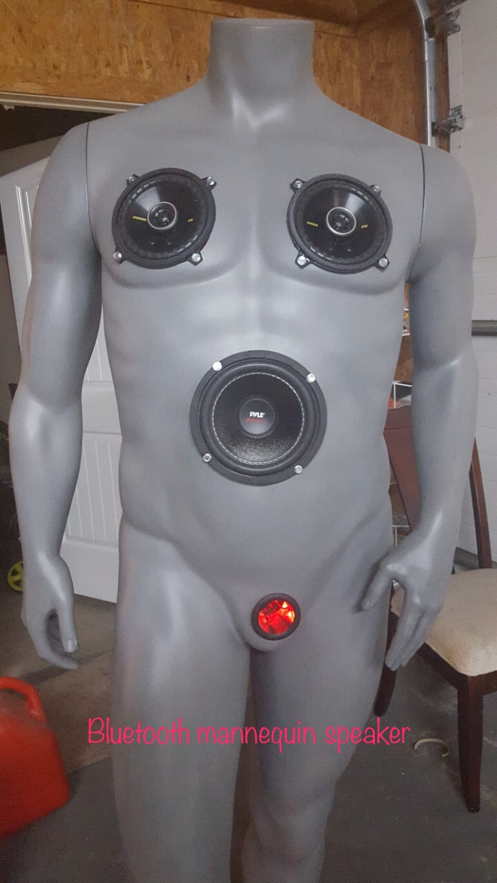 Picture of Rechargeable Bluetooth Mannequin Speaker