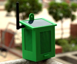 Solar Powered WiFi Weather Station V1.0