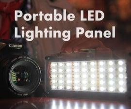 DIY Portable LED Lighting Panel