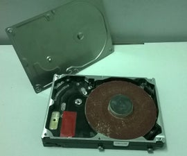 DIY Grinding Machine by HDD(hard drive)