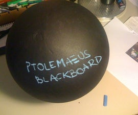 Chalkboard sphere