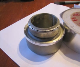 TIN CAN ALCOHOL STOVE