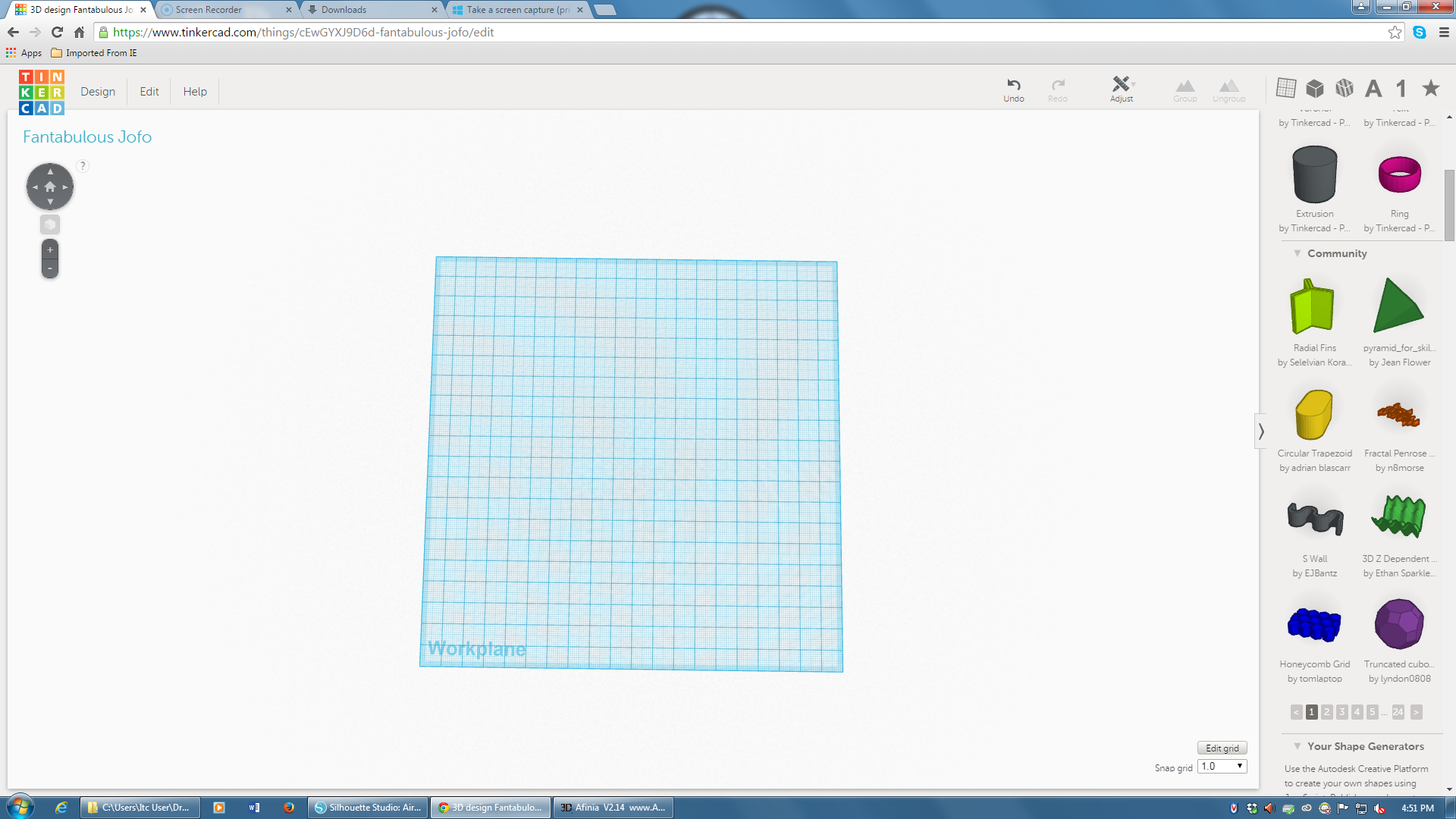 Picture of BLANK TINKERCAD