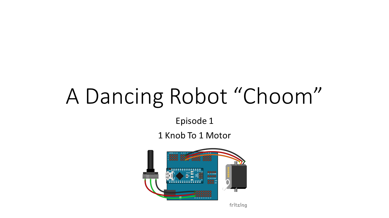 Picture of Control 1 Servo Motor Using 1 Potentiometer (Humanoid Robot EP 01)
