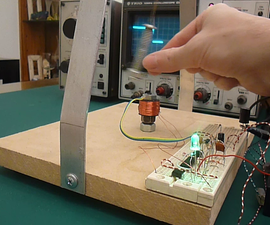 Magnetic Pendulum ( with hall effect sensor )