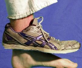 Barefoot Incognito: Hyper-minimalist shoe conversion