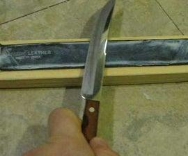 Old Belt Knife Strop