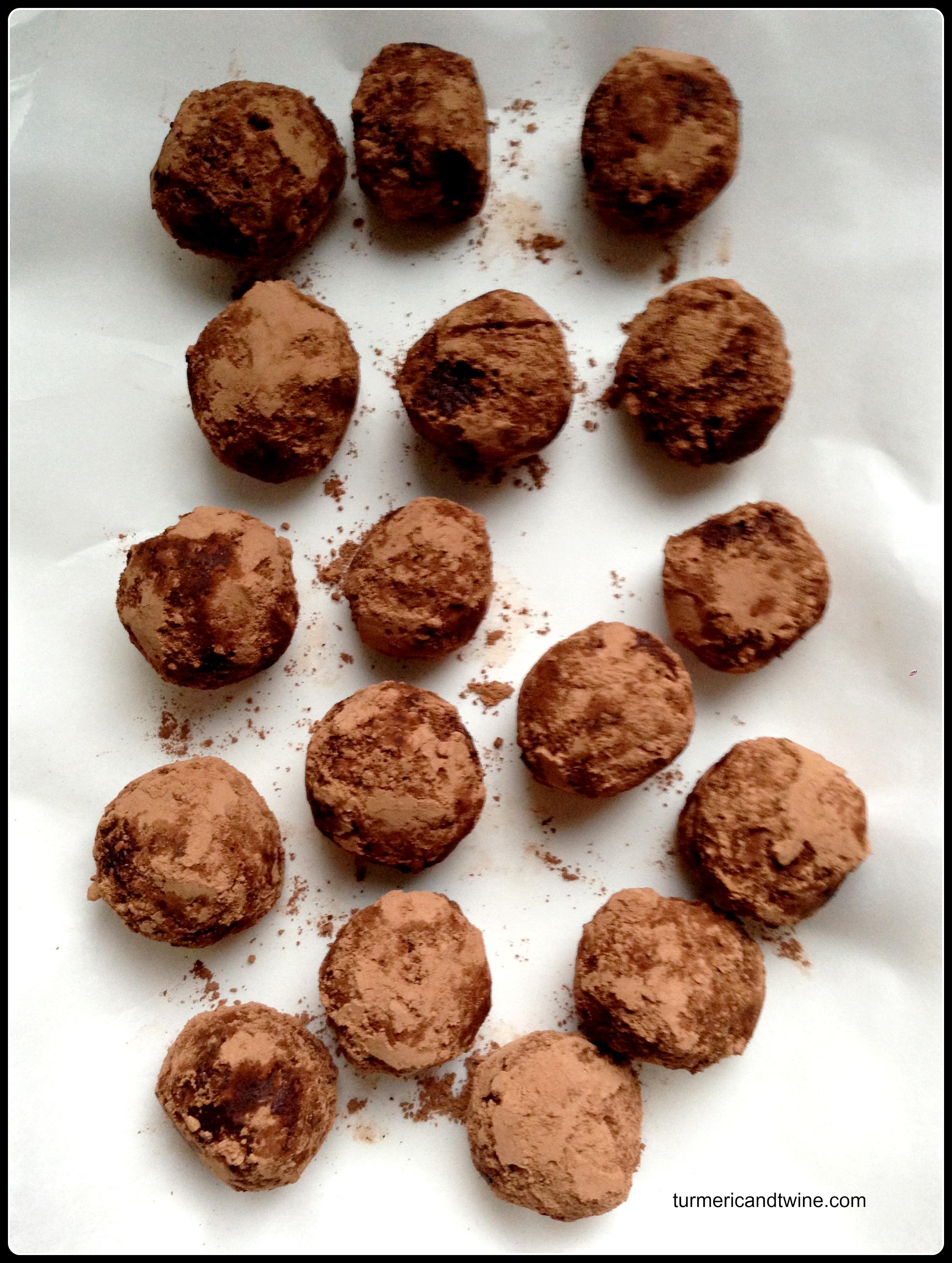 Picture of Vegan Passion Fruit Truffles