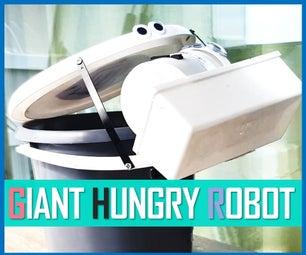Trash Bin Robot - Giant Hungry Robot