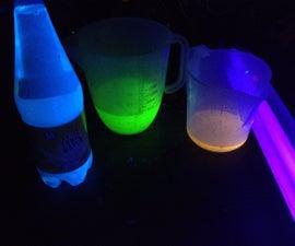 3 Ways To Make Water Glow!