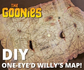 The Goonies: One-Eye'd Willy's Map Replica