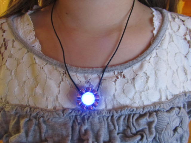 Picture of Easy IronMan Arc Reactor Necklace