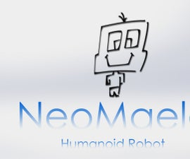 Humanoid Robot voiced controlled with Arduino Mega, raspberry Pi and 1Sheeld