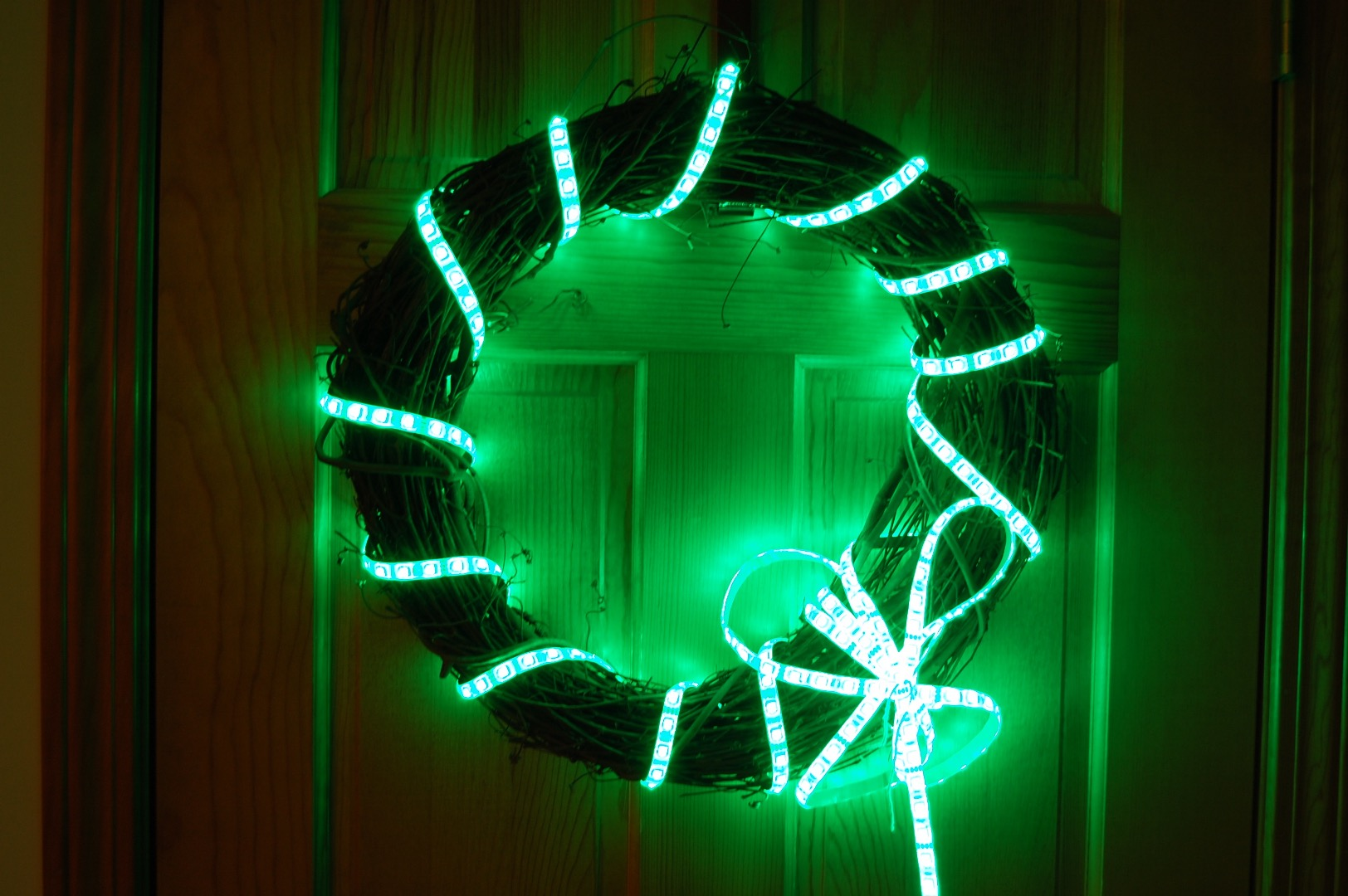 Picture of Holi-Lights: Programmable Multi-Holiday Wreath
