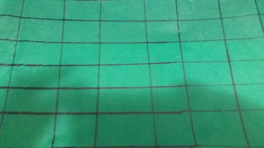 Get a Piece of Green Tissue Paper and Draw