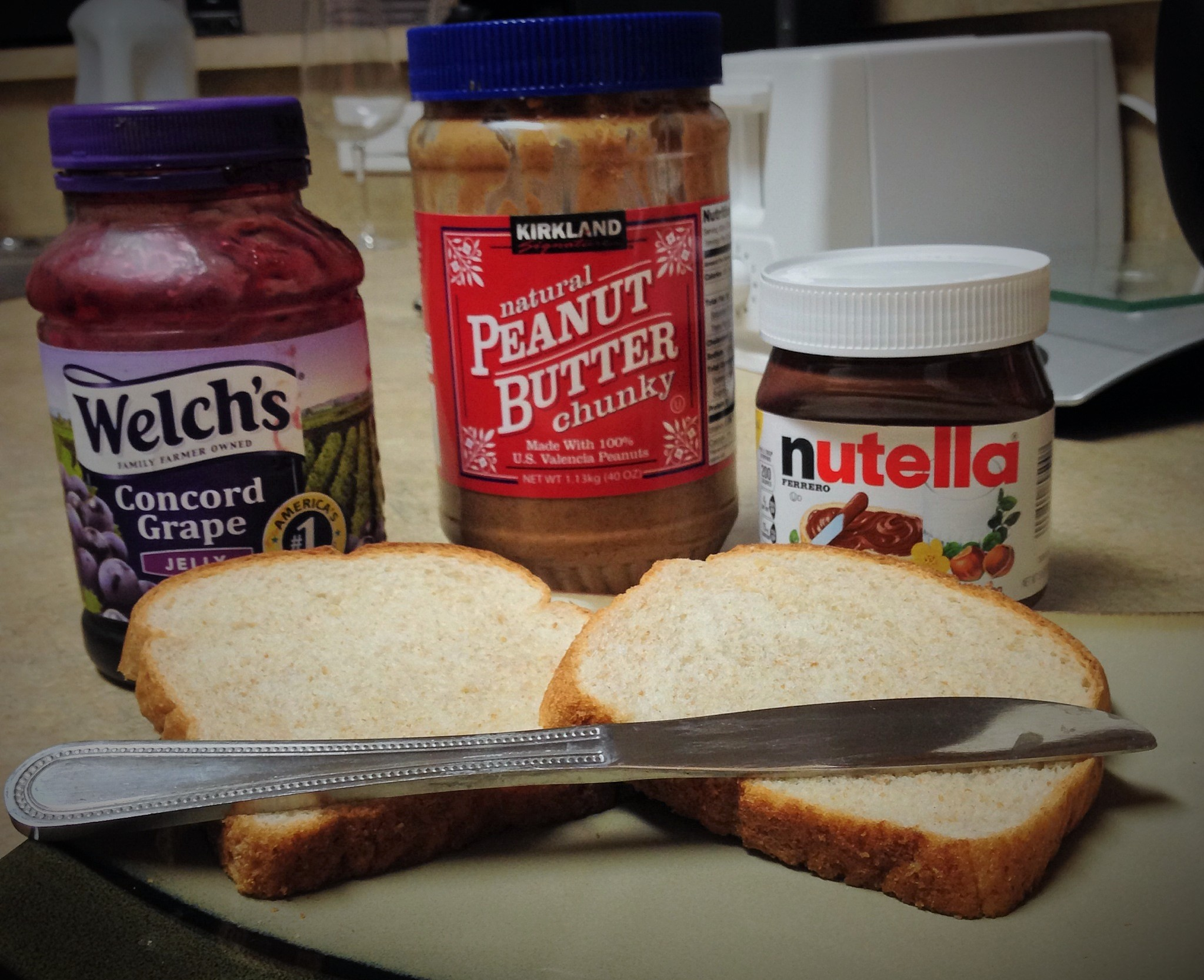 Picture of The Enhanced Peanut Butter and Jelly Sandwich