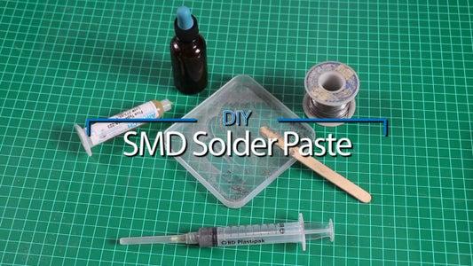 DIY SMD Solder Paste