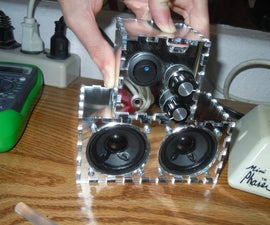 Make a Speaker and Amplifier without complicated electonics