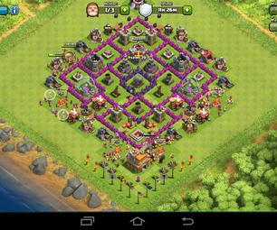 Clash of Clans-Dark Elixer Farming Base
