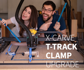 T-Track Clamp CNC Upgrade