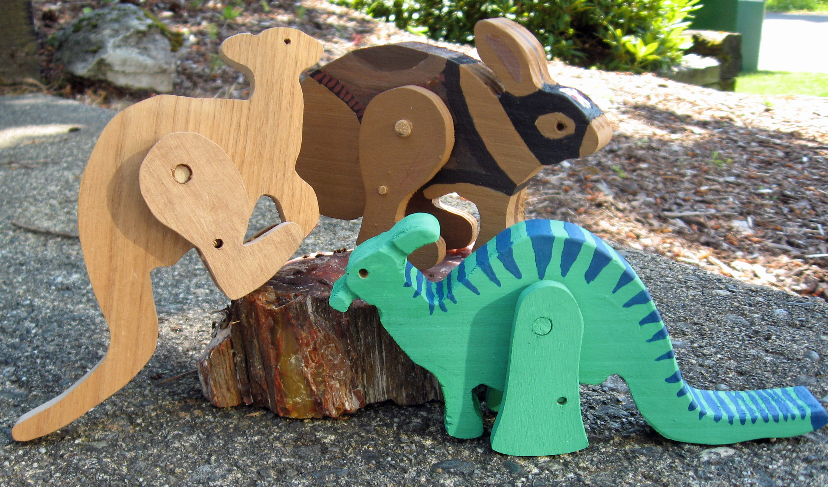 designing hopping animal and comic book character toys: 4