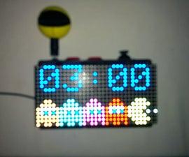 Pacman Alarm Clock