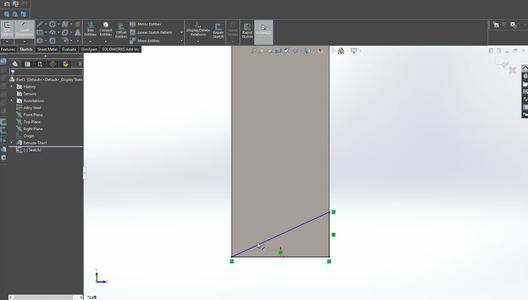 Designing the Frame in Solidworks