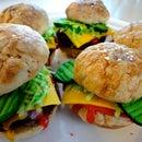 Hamburger/Chicken Slider Cookies