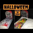 Halloween Decor- DIY Trick or Treat GRAVE (under a dollar)