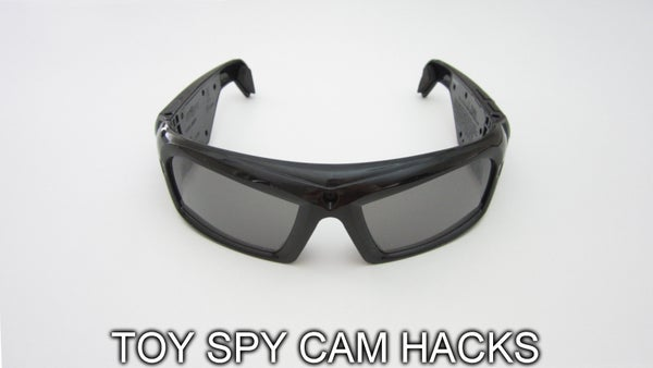Modify a Toy Spy Camera for Other Applications