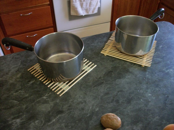Chopstick Trivet / Hot Pads