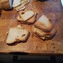 Mini toasts or Emergency dip crackers
