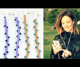 DIY Stylish Headphones Wrap