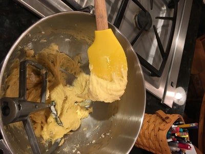 Pour the Batter Into the Pan