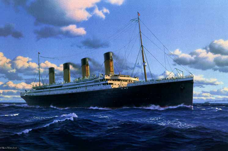Picture of Knex Titanic