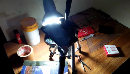 Use a Camera Stand to Focus Onto the Specimen.
