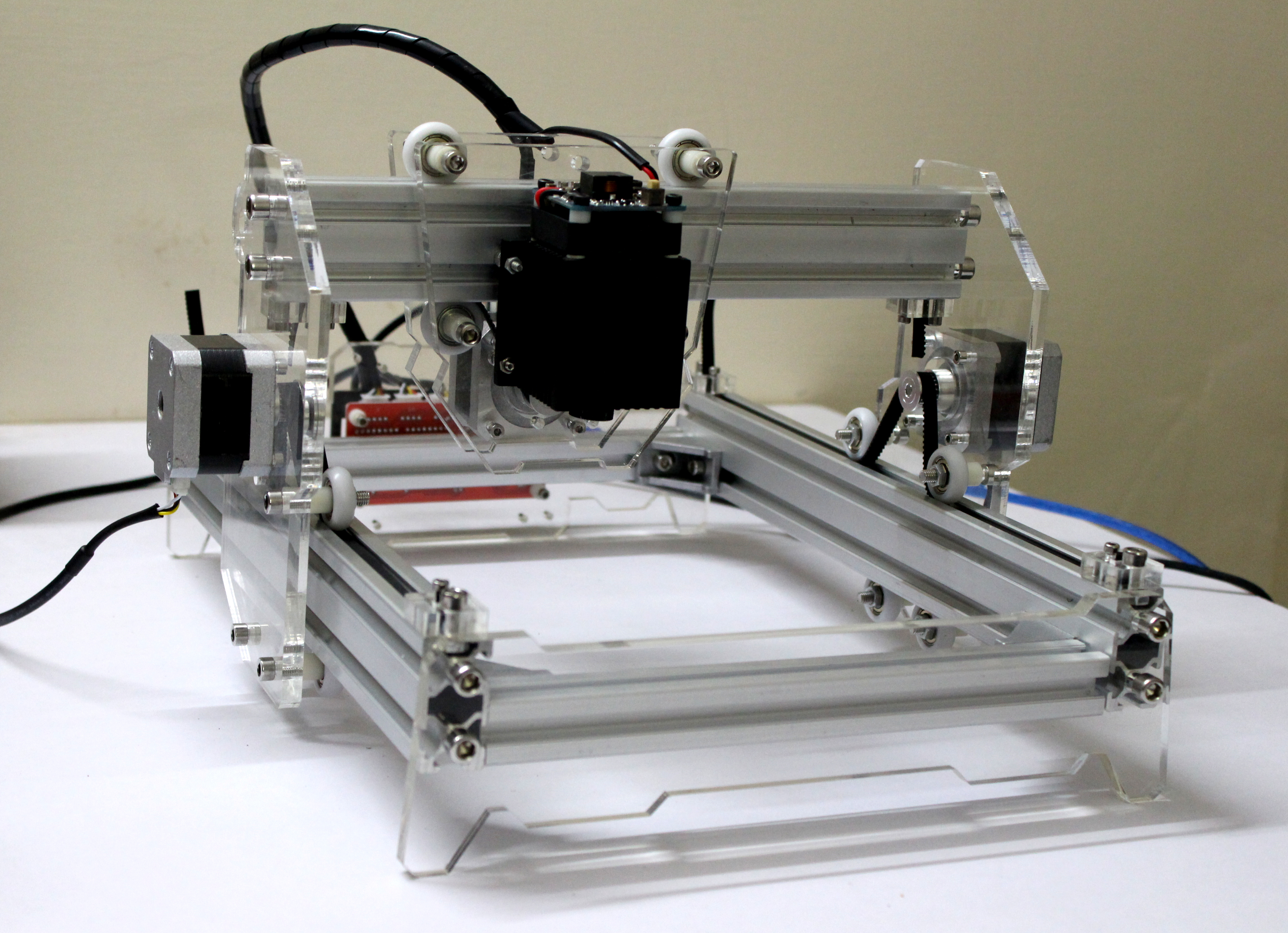 Picture of DIY 5500mW Laser Engraver / Cutter