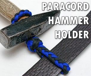 Paracord hammer holder