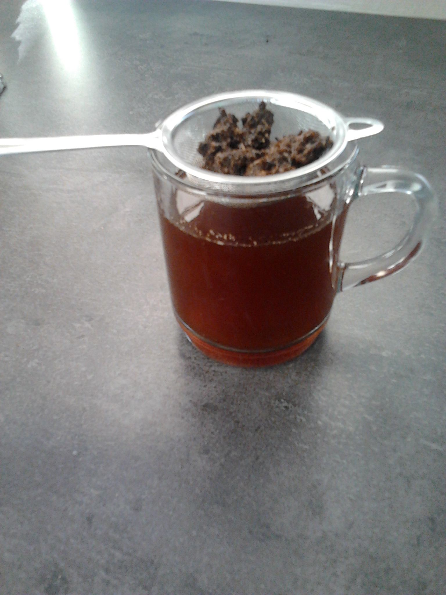 Picture of Homemade Dandelion Coffee.