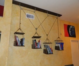 Hanging / Moving Book Shelves