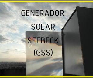 Generador Solar Seebeck Portatil