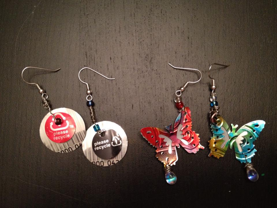 Picture of Soda Can Earrings