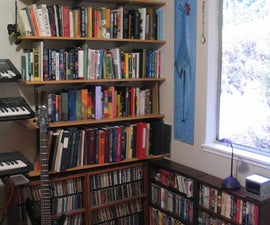 How to Install Standard-and-Bracket Book Shelves