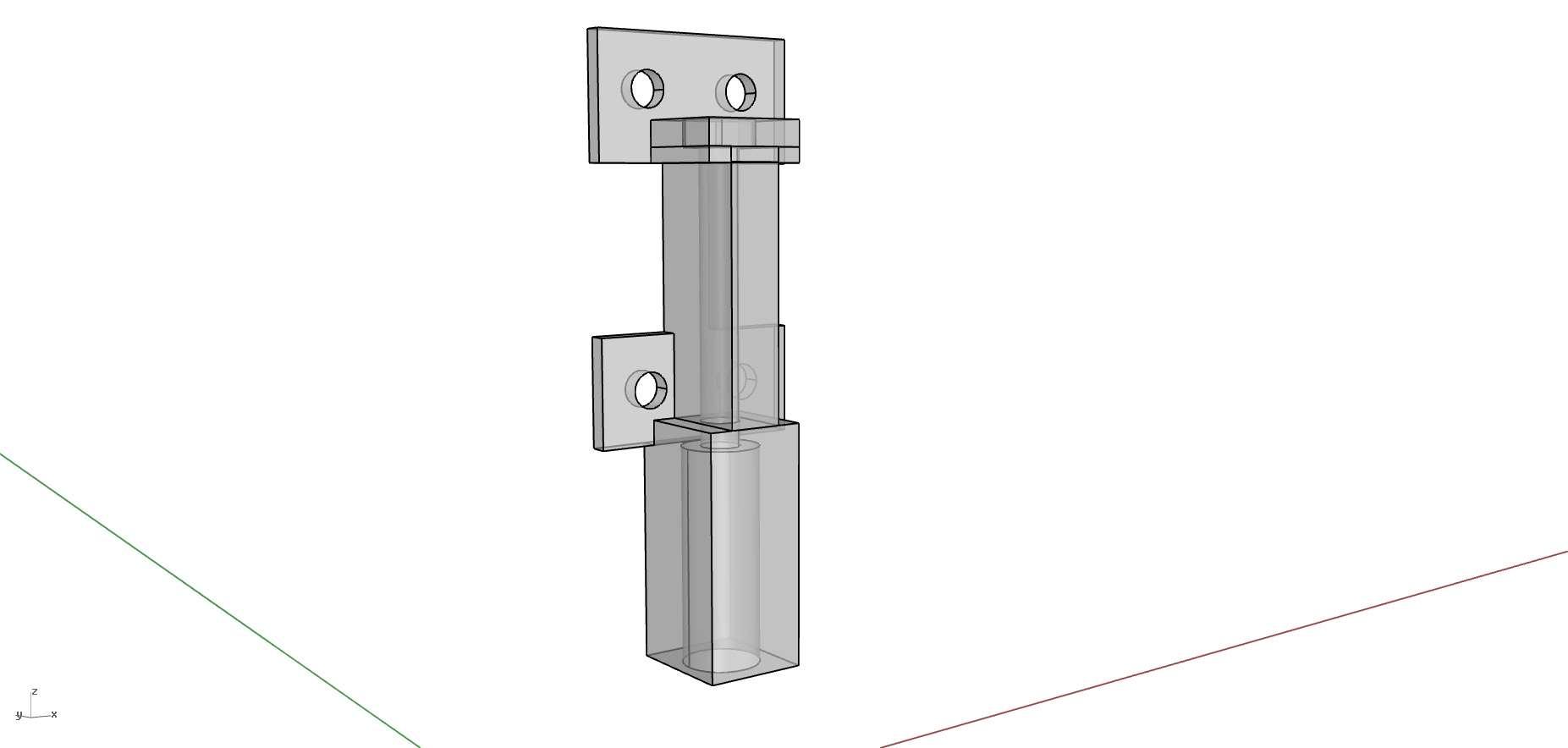 Picture of Machine: the CNC Gantry