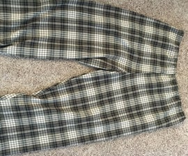 How to Sew Pajama Pants From a Pattern: the Quick and Dirty Version